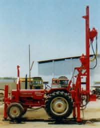 Tractor Mounted Rig