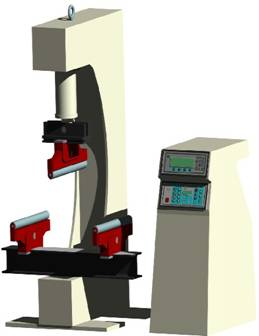 Beton Eğilme Test Cihazı 150kN