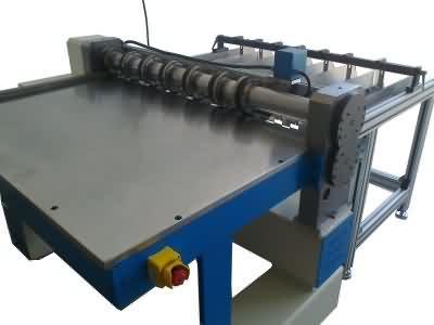 Çoklu Silindrik Sac Dilme Makinesi (8 li)