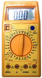 Dijital Volt / Ampermetre