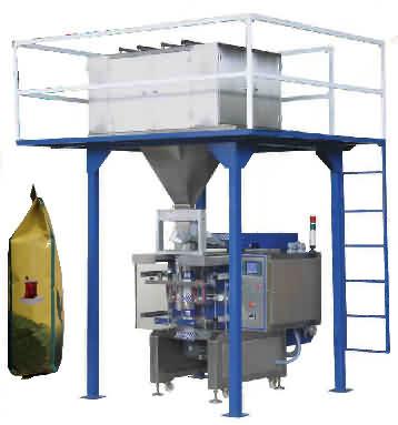 Dikey Çay Paketleme Makinası