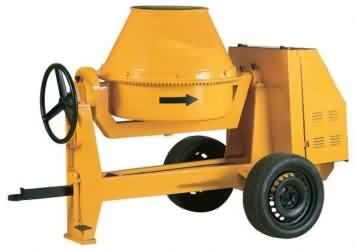 Dizel Motorlu Betoniyer (250 litre)
