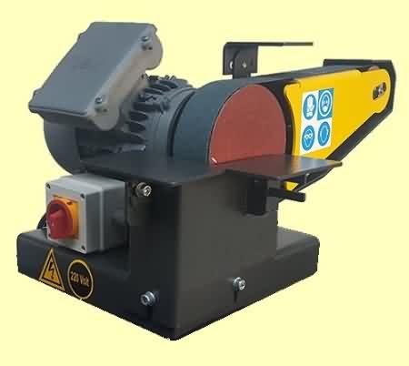 Masaüstü Bant Zımpara Makinası (50 mm)