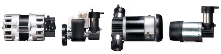 Mini Pistonlu Kuru Vakum Pompası