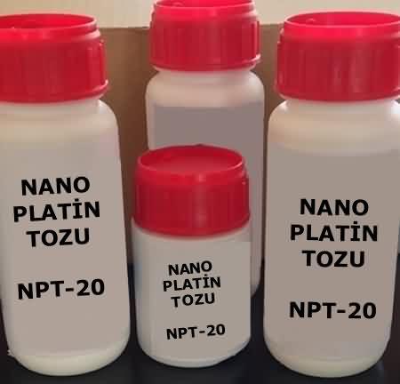 Nano Platin Tozu (18 nm)