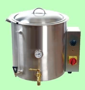 Krom Balmumu Eritme Kazanı (70 - 170 litre)