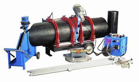Plastik Boru Alın Kaynak Makinası (500 mm)