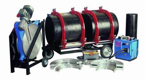 Plastik Boru Alın Kaynak Makinası (630 mm)