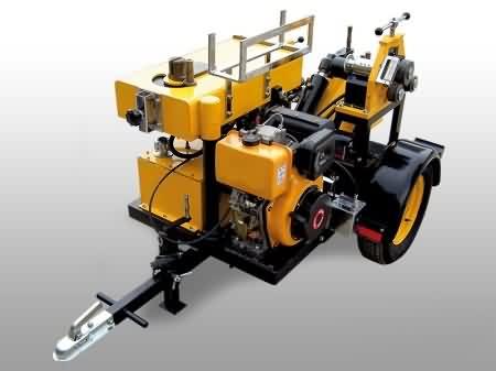 Römork Üzeri Demir Kesme ve Bükme Makinası