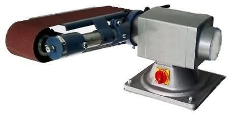 Torna Üzeri Bant Zımpara Makinası