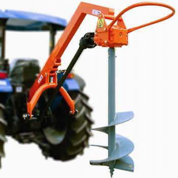 Traktör Arkası Toprak Burgusu (40 BG)